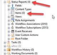 4 files do not show anywhere.