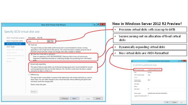 iSCSI Target Server in Windows Server 2012 R2 - Microsoft ...