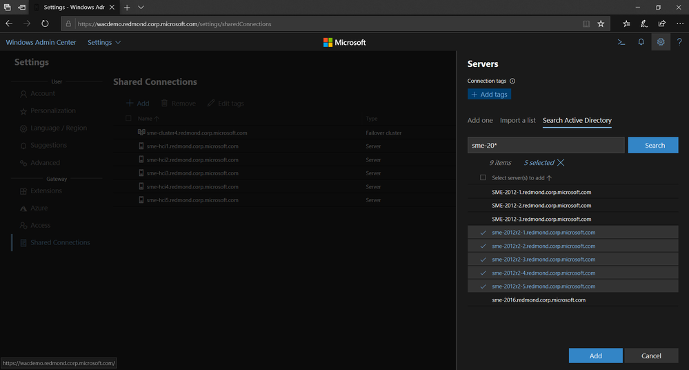 Windows Admin Center 1904 GA update is now available