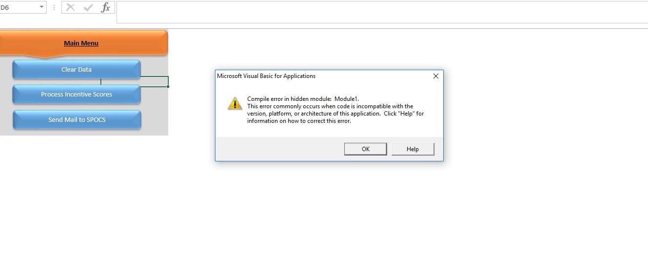 VBA Excel Code Compatible Error - Microsoft Tech Community - 46744