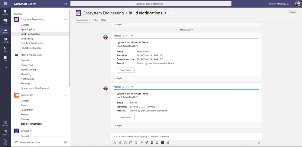 Stay up to date on your build activities with Jenkins