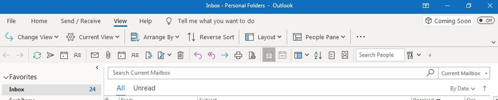 New Outlook updates enable you to customize your experience