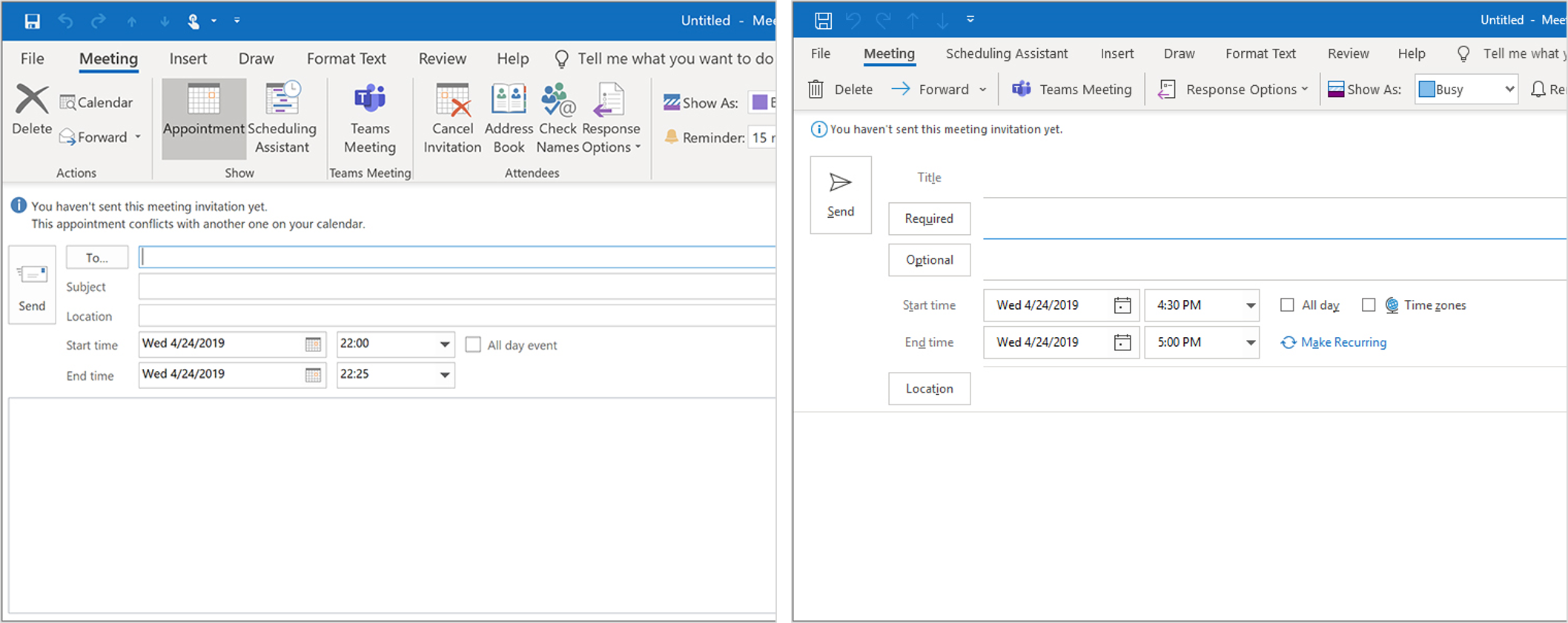 Calendar updates in Outlook for Windows gives you time back
