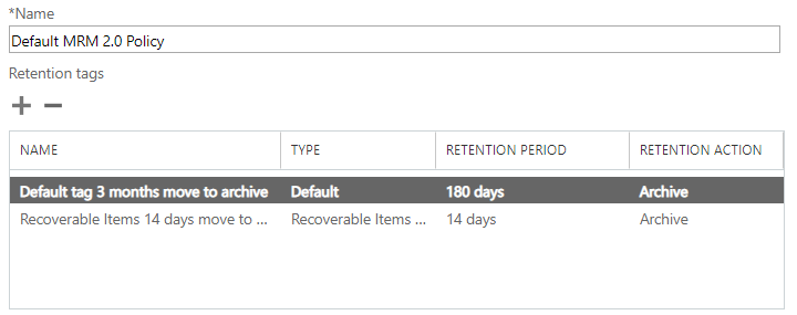 Office 365 Retention, Disposal & Archiving - Frequently