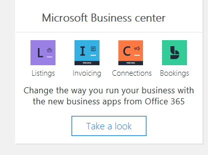 Microsoft Business Center In Admin Center Microsoft Tech Community - Office 365 invoicing app