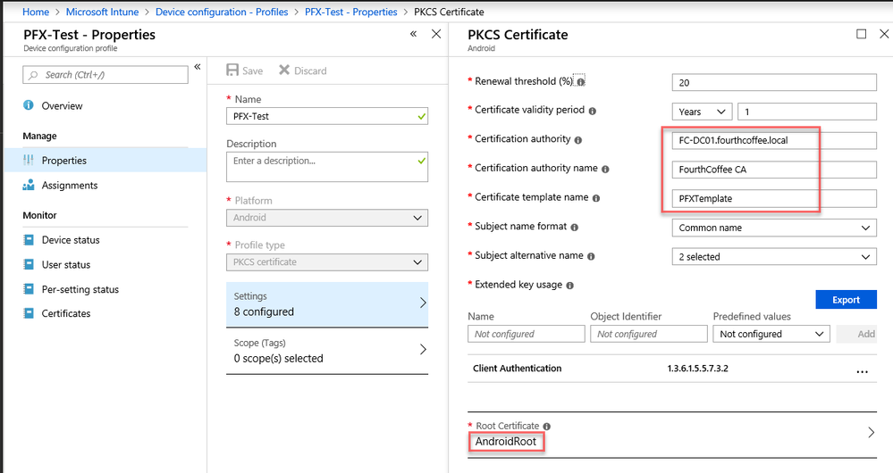 Support Tip: Configuring and Troubleshooting PFX/PKCS Certificates