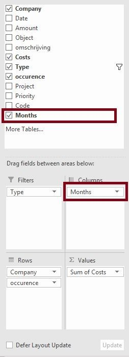 Pivot Table - Date - Group by Month does not work