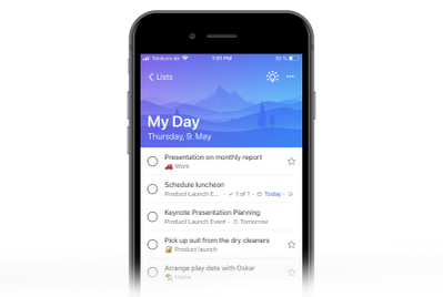 Add your Planner tasks to My Day