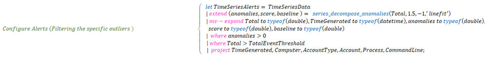 Looking for unknown anomalies – what is normal? Time Series