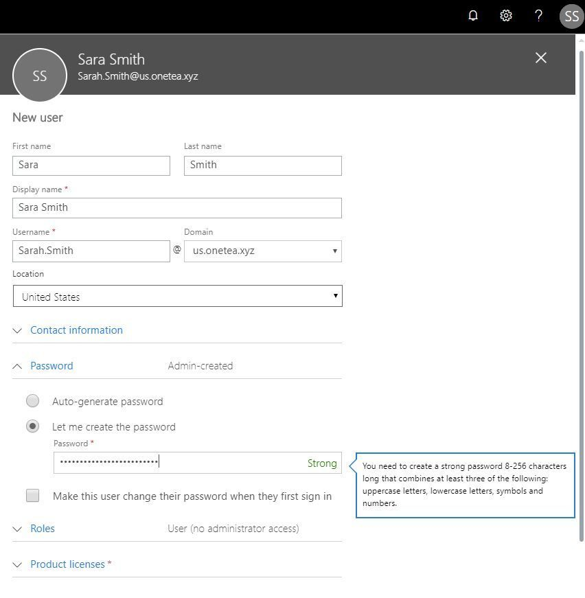 Removal of the 16-character limit for passwords in Azure AD