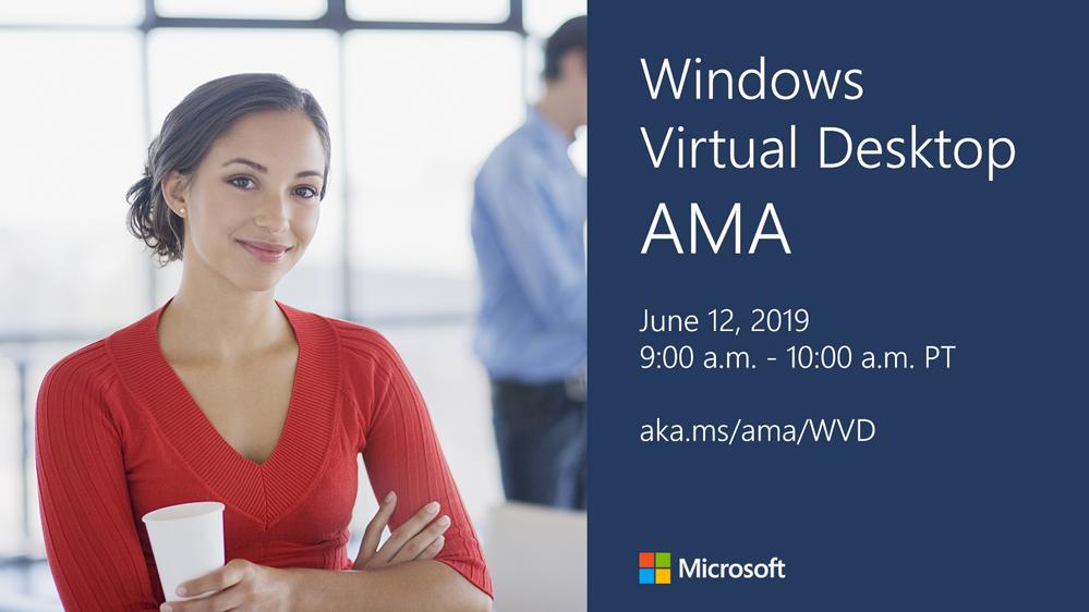 Windows Virtual Desktop AMA event reminder