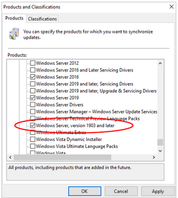 Updating Windows 10, version 1903 using Configuration Manager or