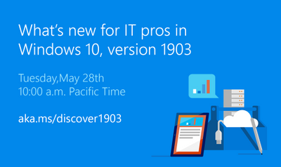 Save the date: Windows 10 and Windows Virtual Desktop events