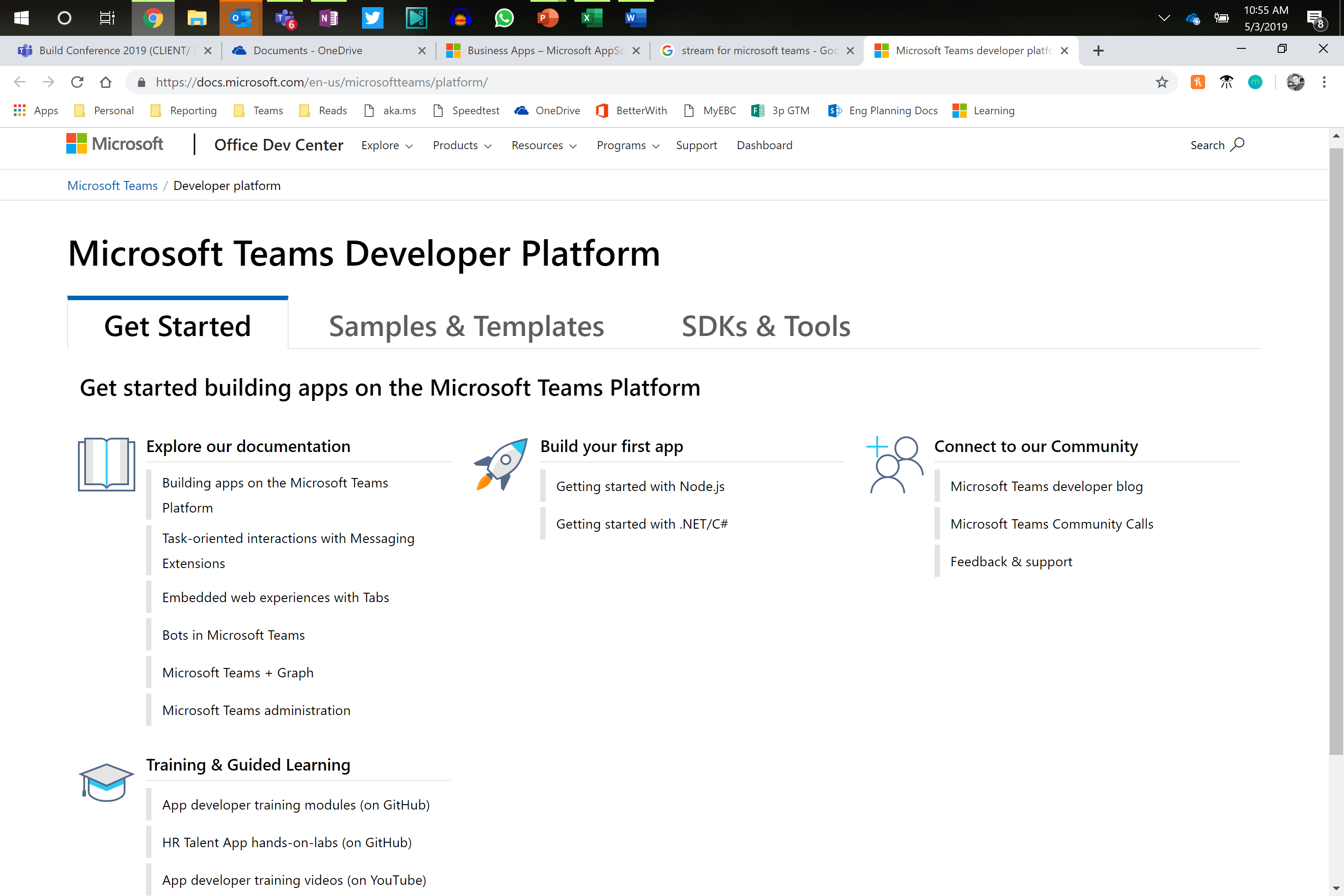 Game-Changing Teams Announcements from Build 2019