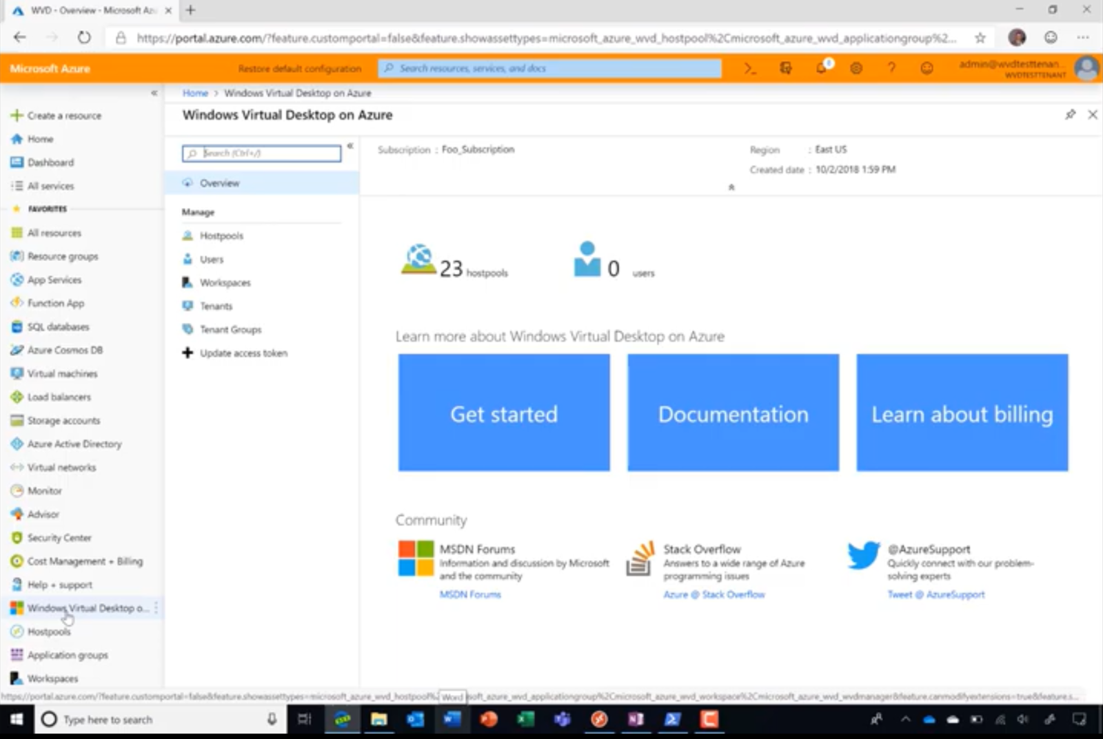 Tuesdays with Corey: Preview Portal Update to Windows Virtual Desktop offering in Azure