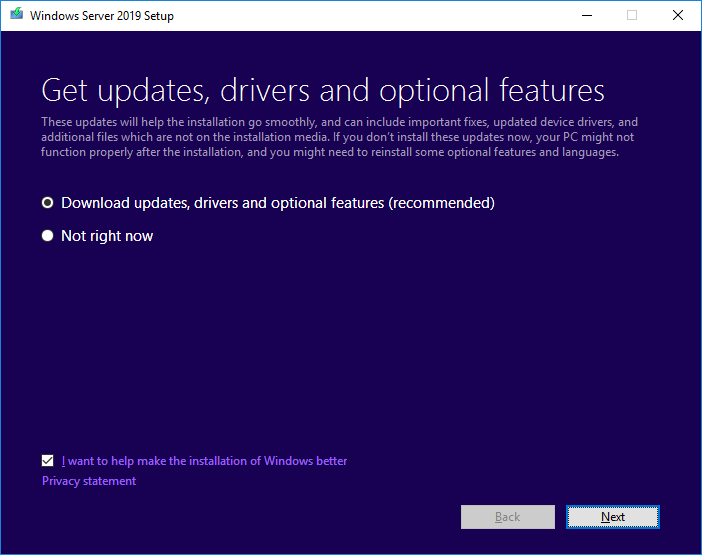 Server 2019 1903 - Microsoft Tech Community - 667675