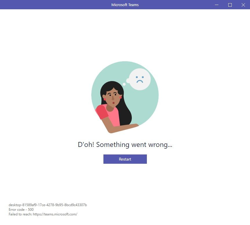 Recovering from incorrect Microsoft Teams login ...