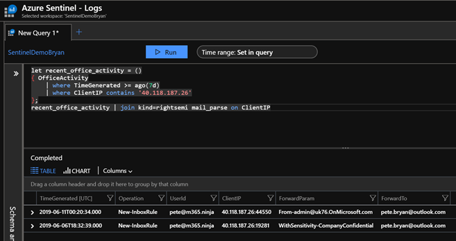 Using KQL functions to speed up analysis in Azure Sentinel ...