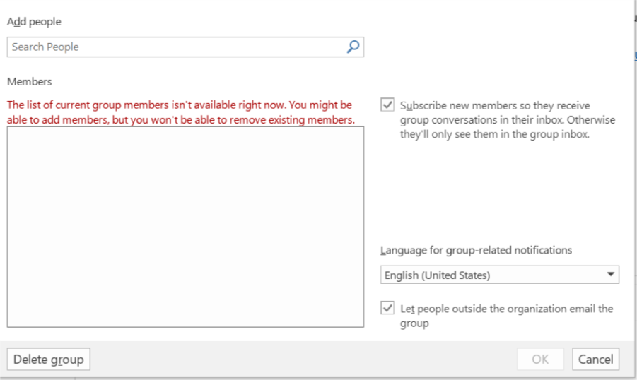 Five Issues With One Office 365 Group Microsoft Tech Community 54363