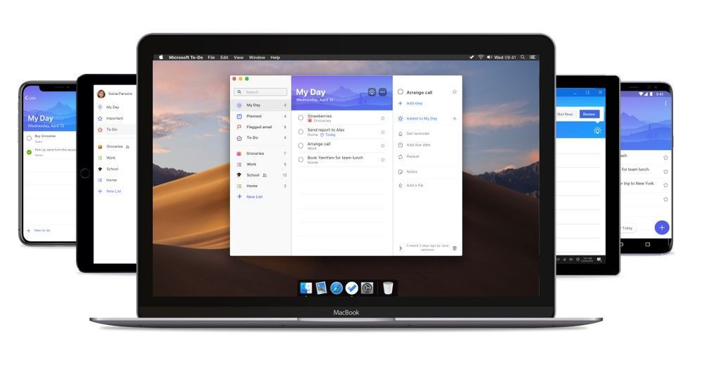 The Microsoft To-Do for Mac app joins iOS, Android, Windows and web.