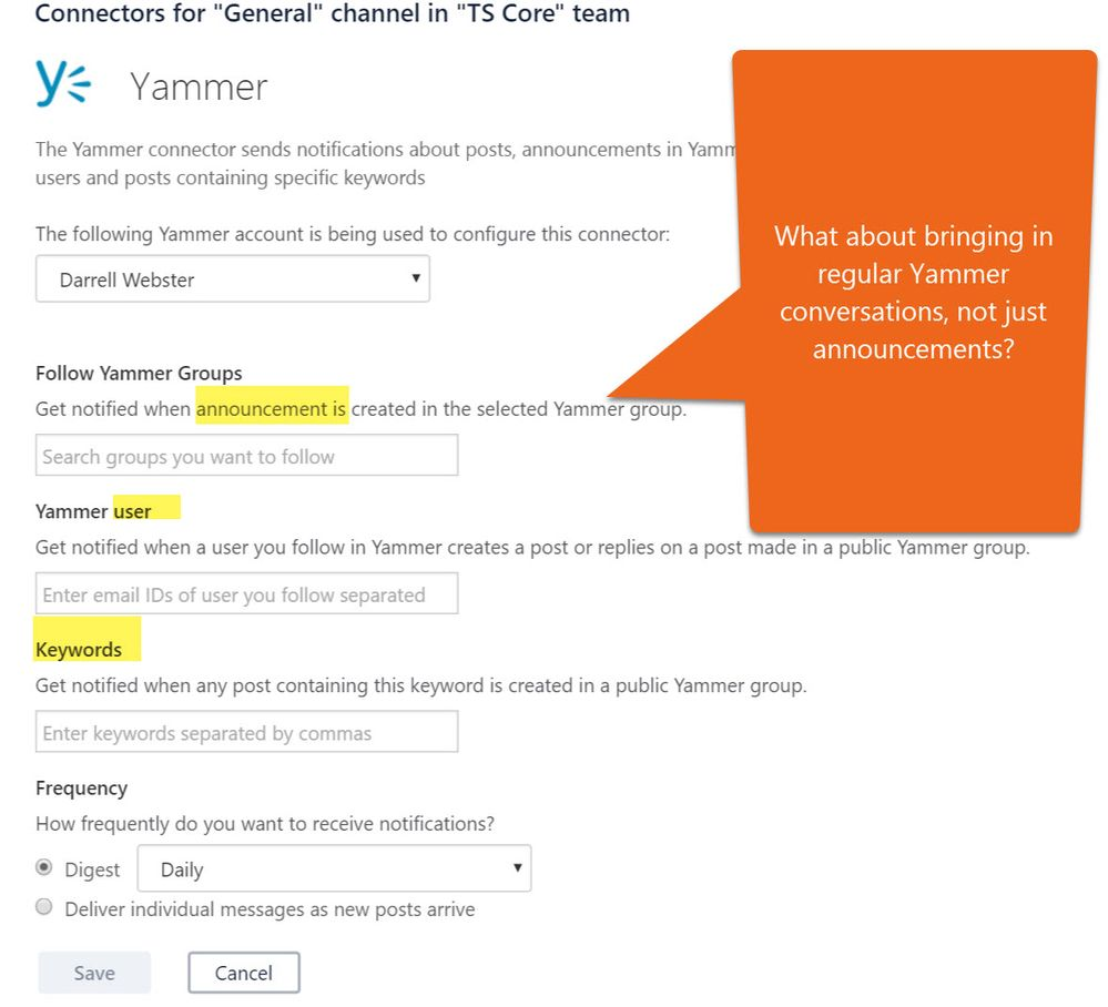 How can a yammer connected office 365 group integrate with microsoft teams microsoft tech - Yammer office 365 integration ...