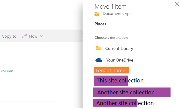 Now – move files anywhere in Office 365, SharePoint and OneDrive