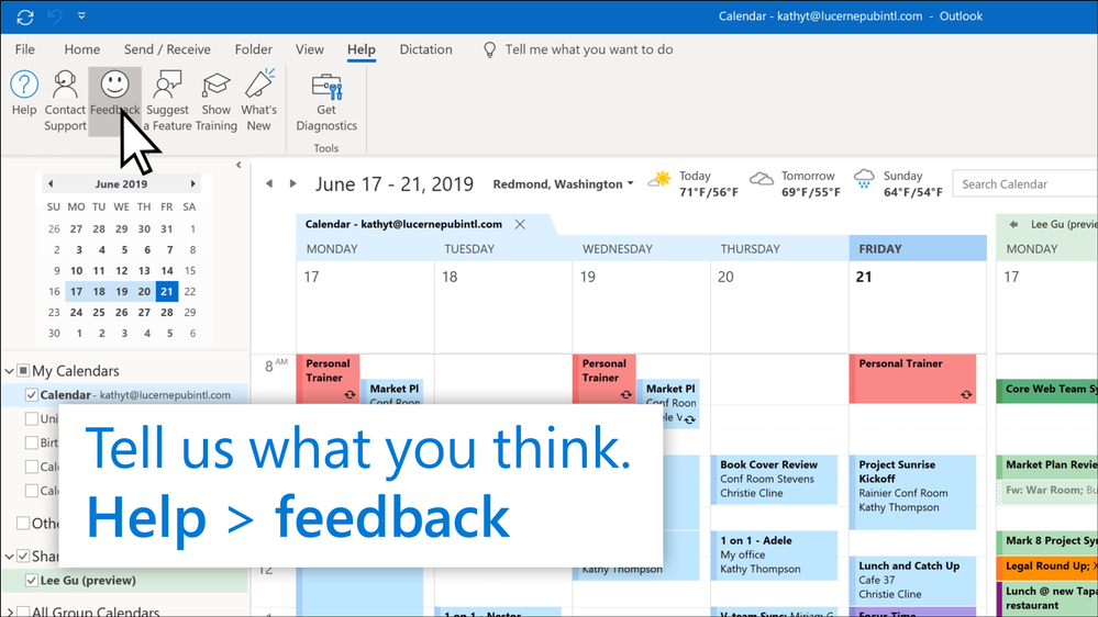 Outlook Calendar Sharing.Preview How Outlook For Windows Is Updating Shared Calendars