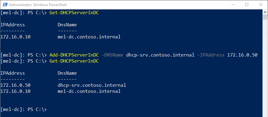 How to Manage DHCP using PowerShell