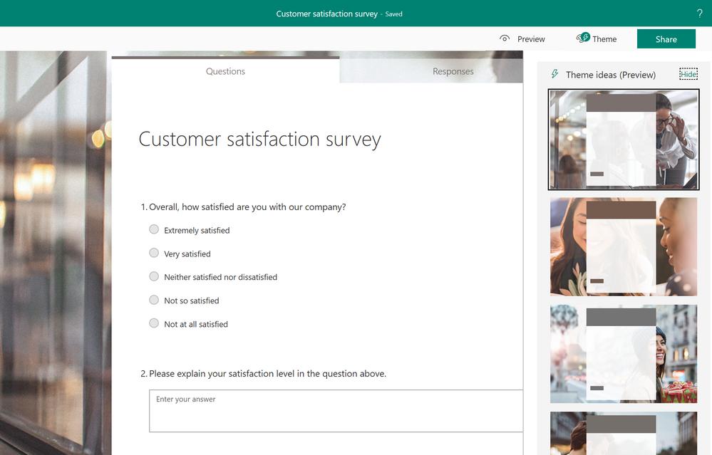 Microsoft Forms Blog - Microsoft Tech Community