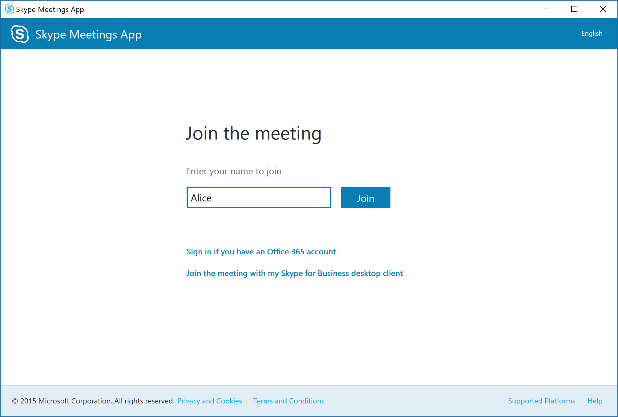Enhancing Skype for Business Online Meetings for external