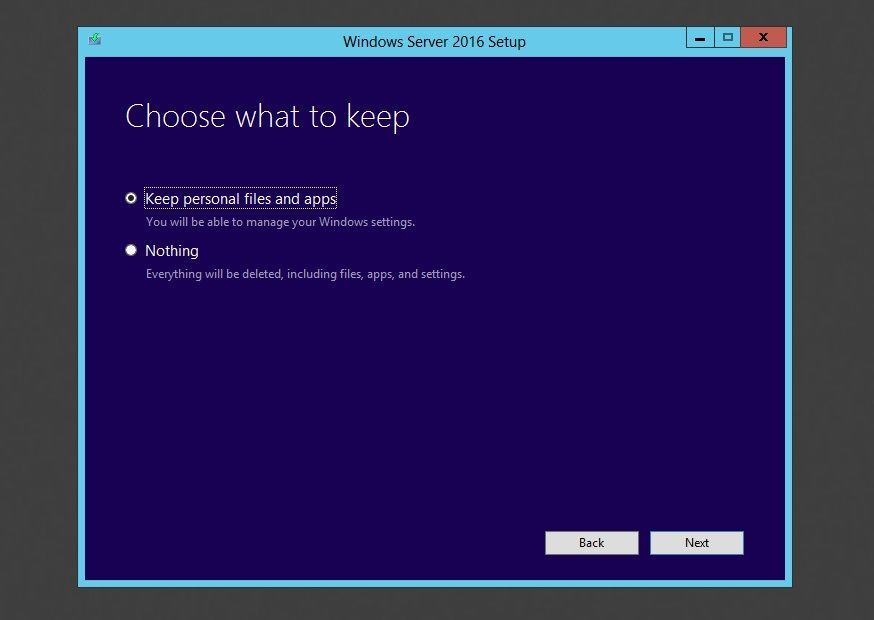 Windows Server 2016 Keep personal files in-place uprgade.jpg