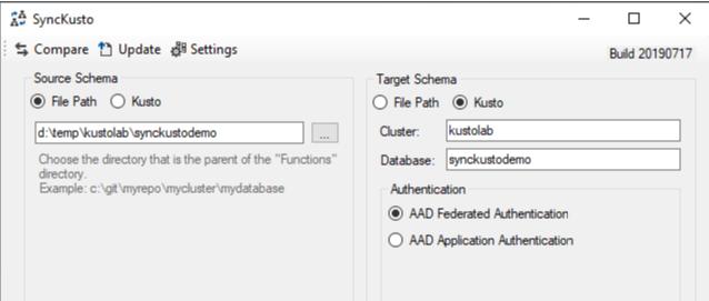 Source Control For Azure Data Explorer(Kusto) Database