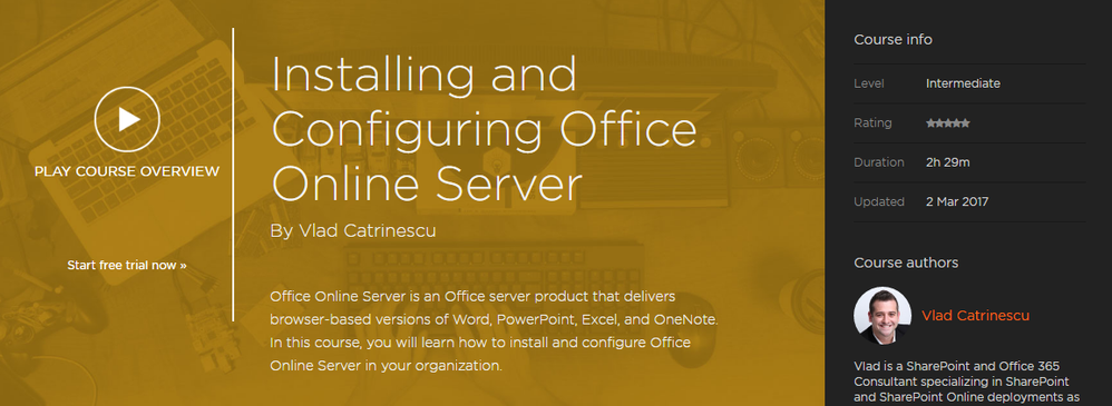 New Pluralsight Course: Installing and Configuring Office