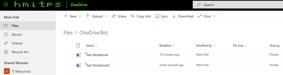 Backup for OneNote App for Windows 10 - Microsoft Tech