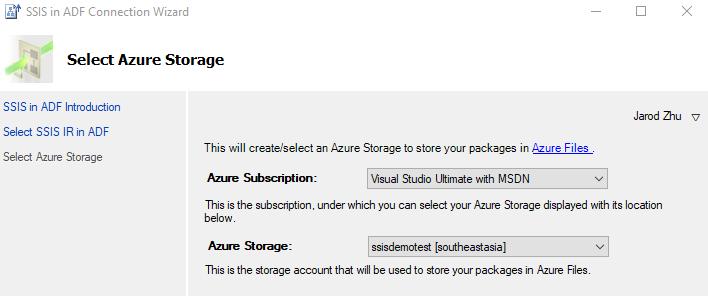 Run SSIS Package in Azure via SSDT - Microsoft Tech Community - 796527