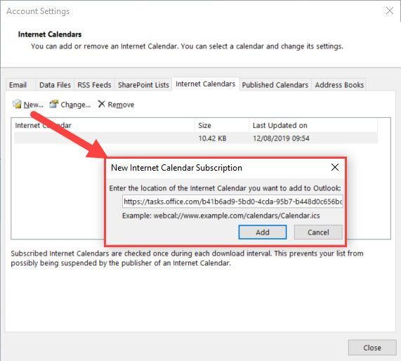 Planner can't integrate with our Outlook Exchange 2013 mailboxes
