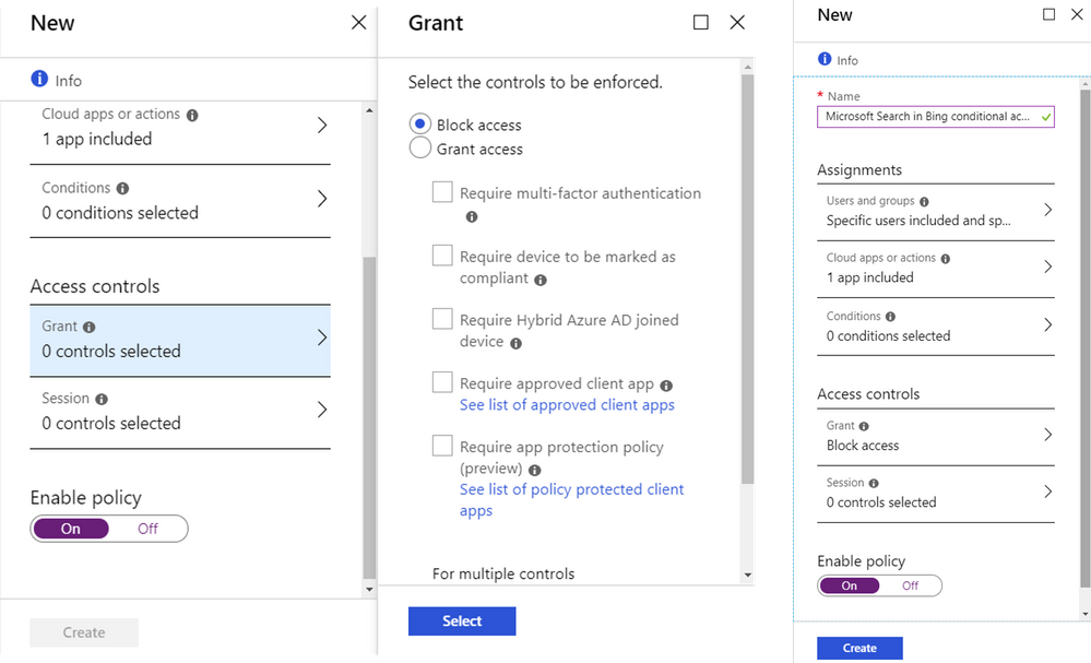 "Figure 7 – Set the Grant value to ""Block access"" for the user(s) you want to block."