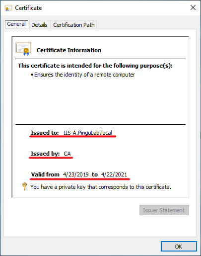 When a client checks a certificate. It also checks for revocation.