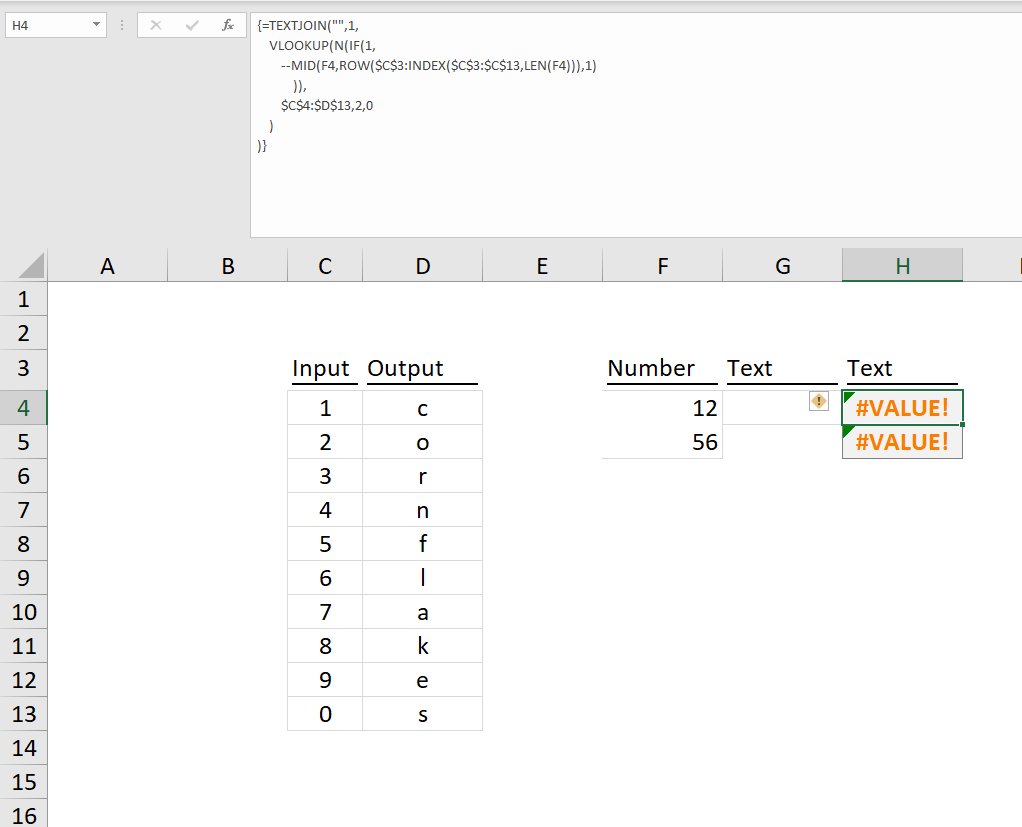 Excel -- Converting letters to number - Microsoft Tech