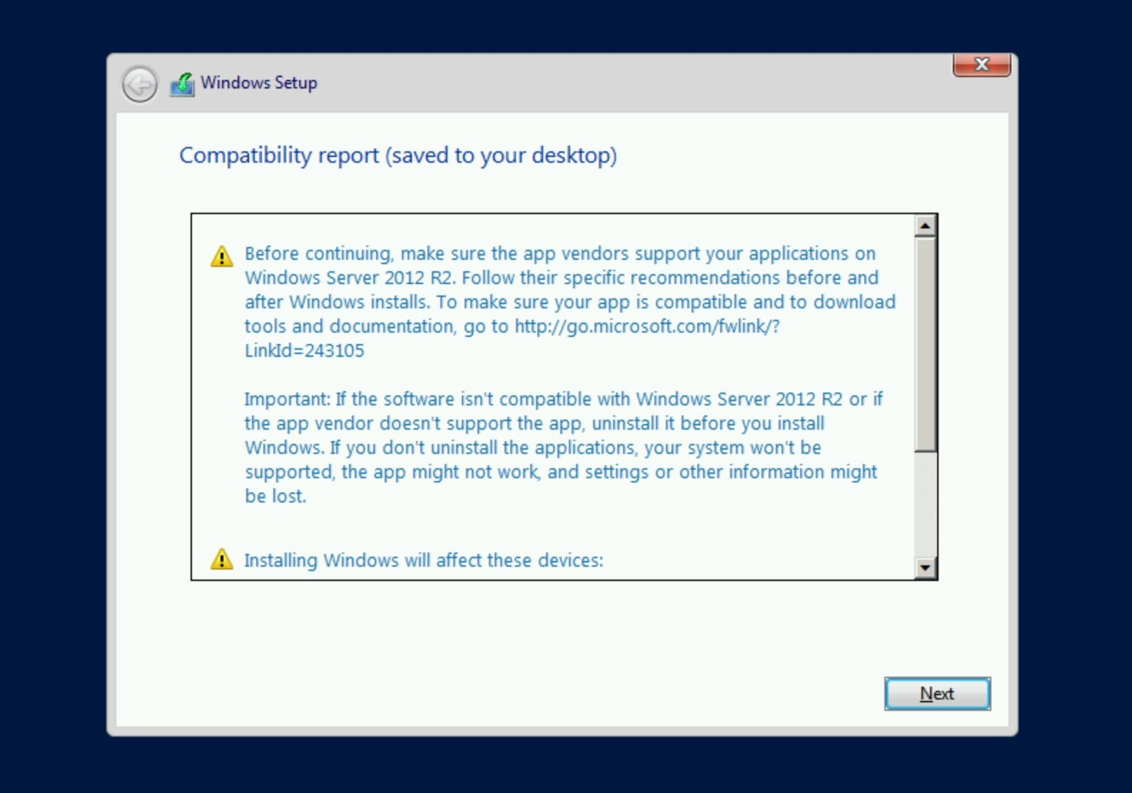 How to In-Place Upgrade Windows Server 2008 R2 to Windows