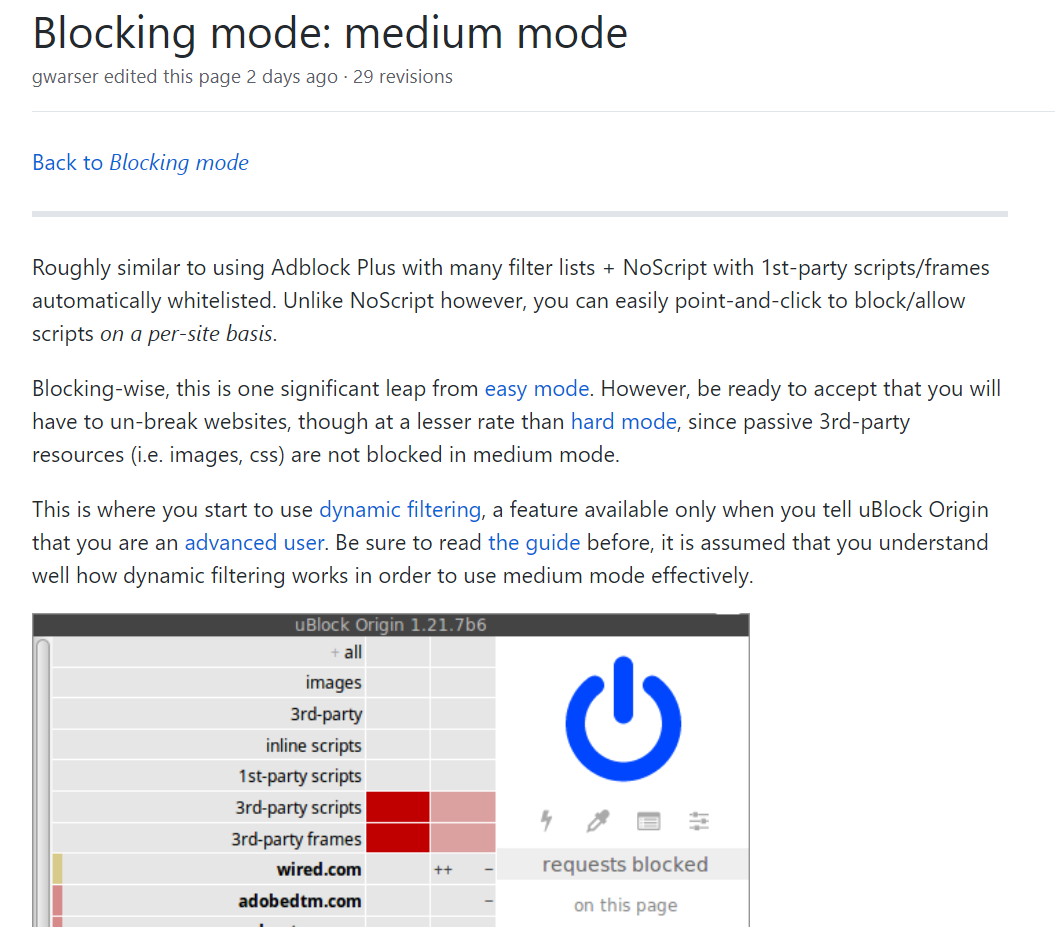 blocking ads without third-party extensions  - Microsoft