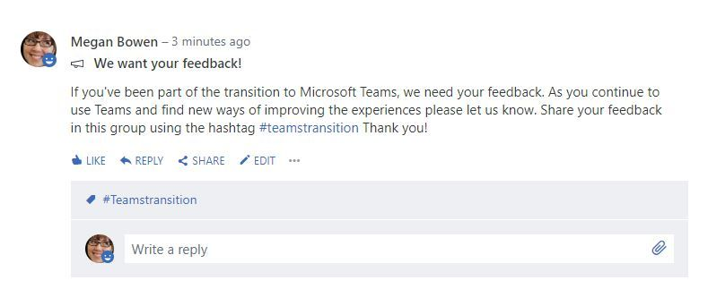Manage your Skype to Microsoft Teams transition with Yammer