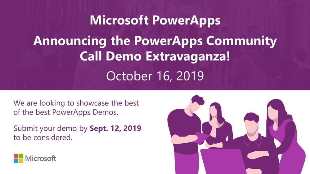 Do you have a cool PowerApps demo and looking to share it