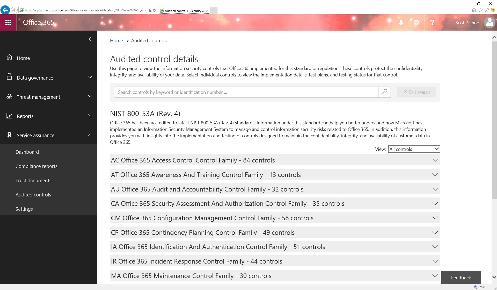 released office 365 audited controls for nist 800 53 microsoft tech community 61479