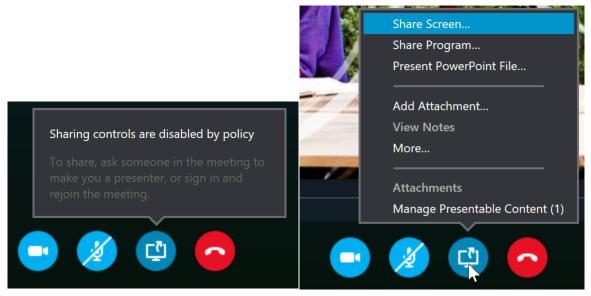 Skype desktop sharing firewall