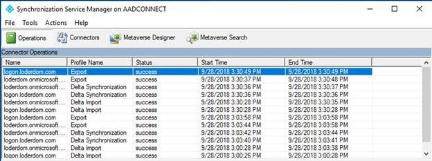 Azure Active Directory Connect Resilient Operations