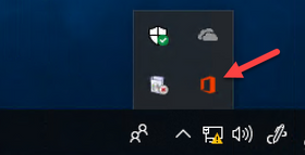 """Basic notification"" which sometimes be hidden under task bar chevron"