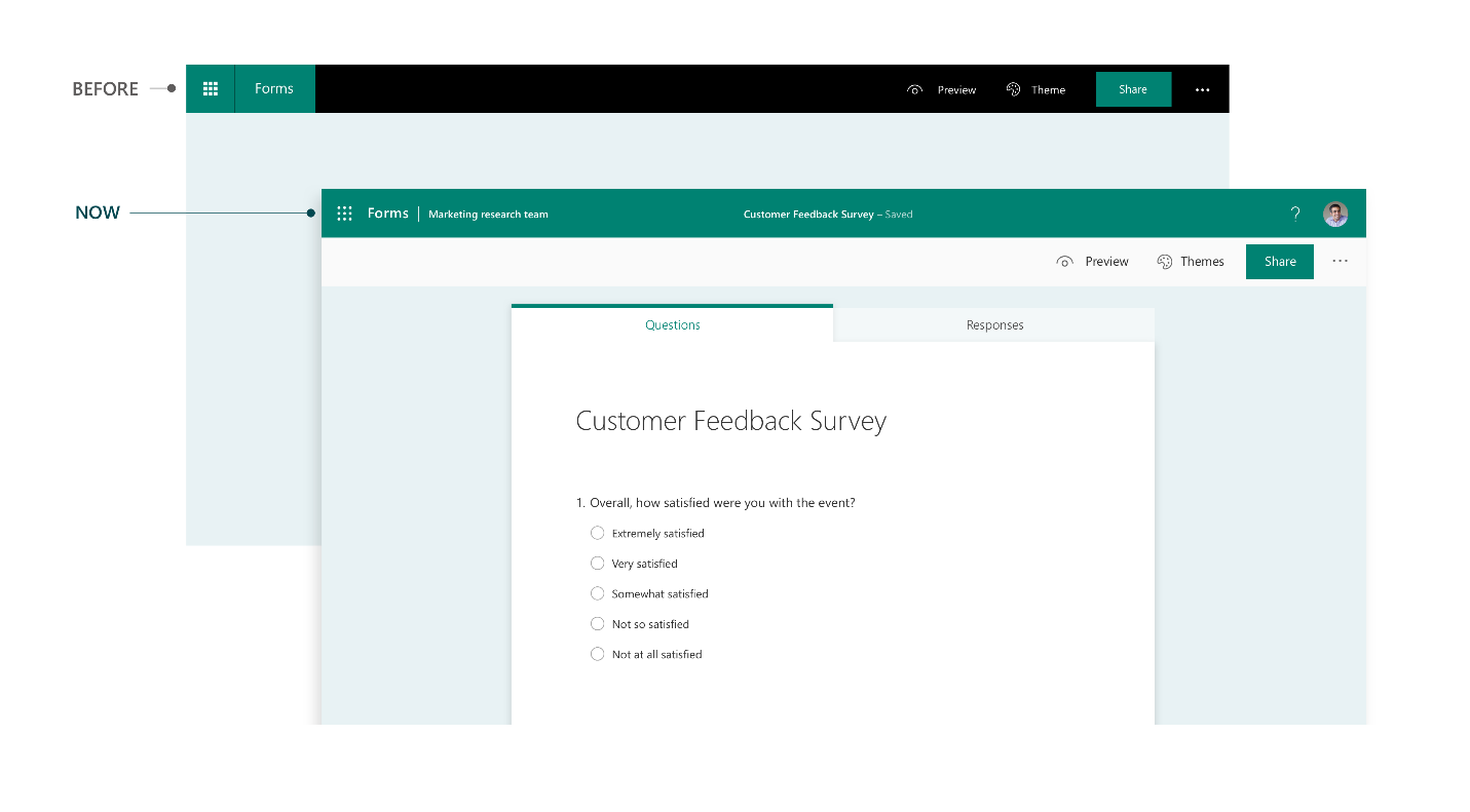What S New In August September In Microsoft Forms Microsoft Tech