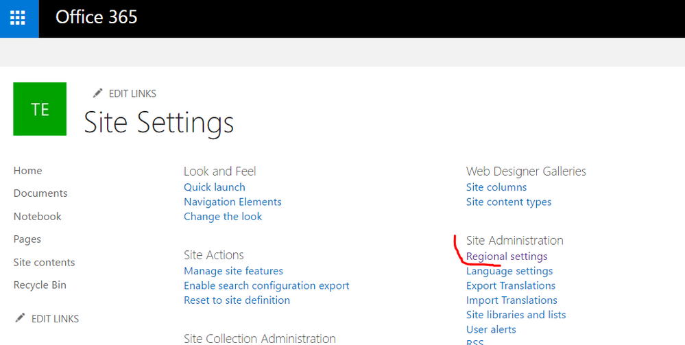 Sharepoint Regional Settings.PNG