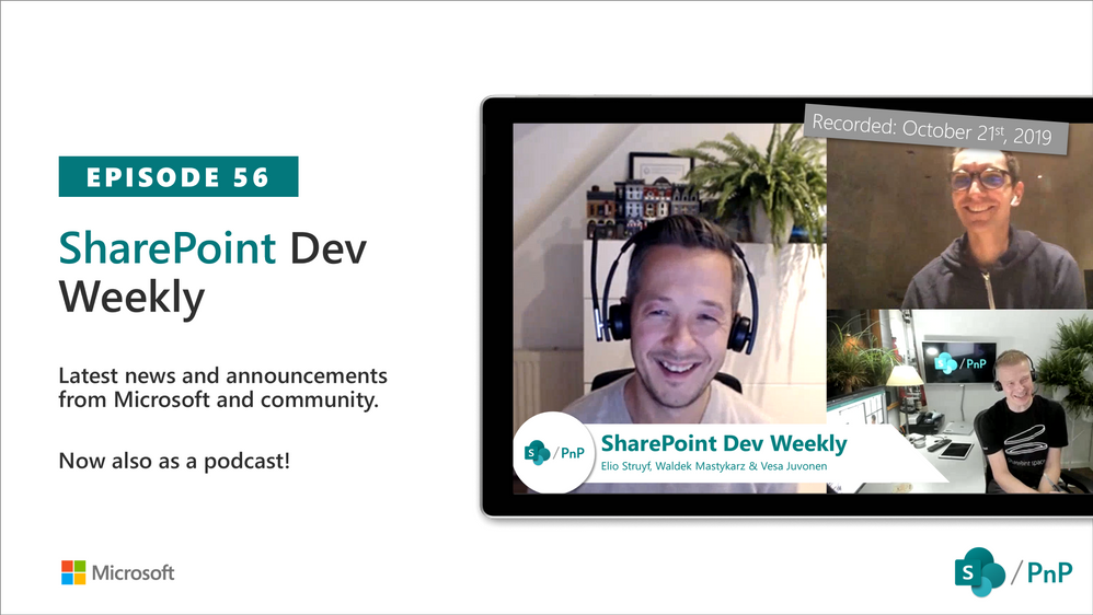 SharePoint Dev Weekly – Episode 56